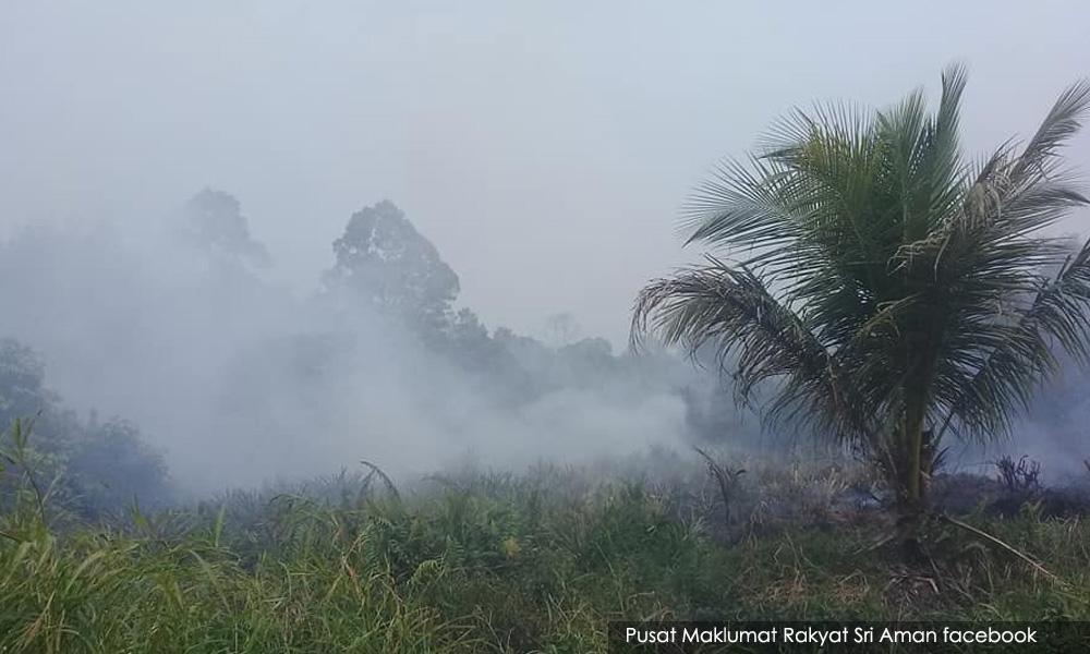 印尼林火热点剧降,全马仍有40区烟霾严重