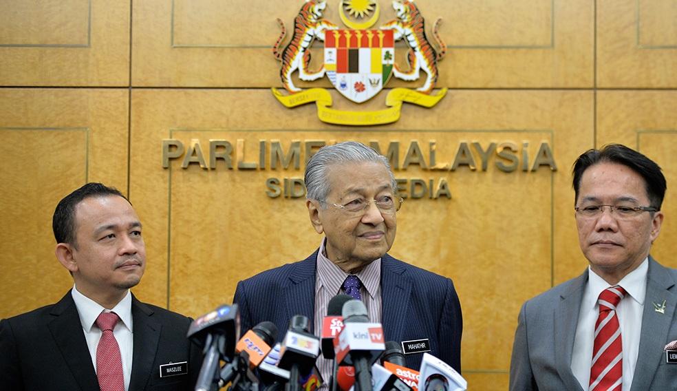 马哈迪拒末哈山邀请组新政府