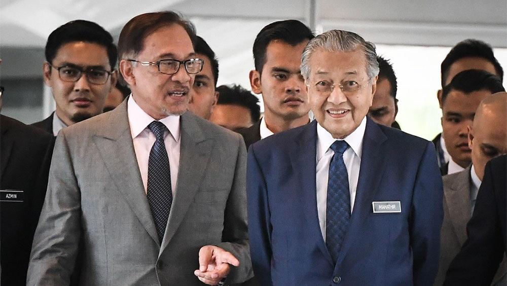 安华就交棒问题呼吁停止施压马哈迪